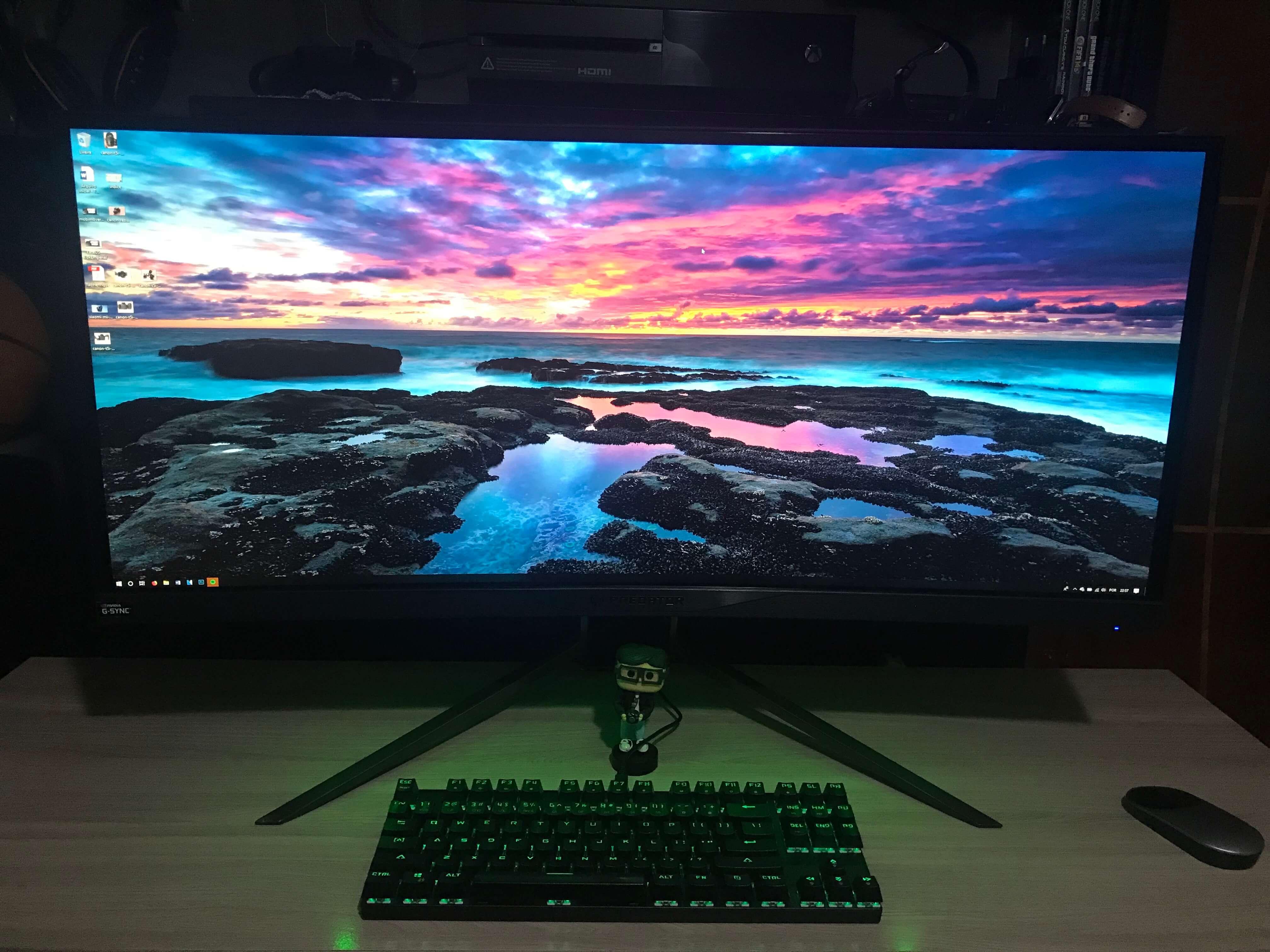 Tela Monitor Acer Predato X34