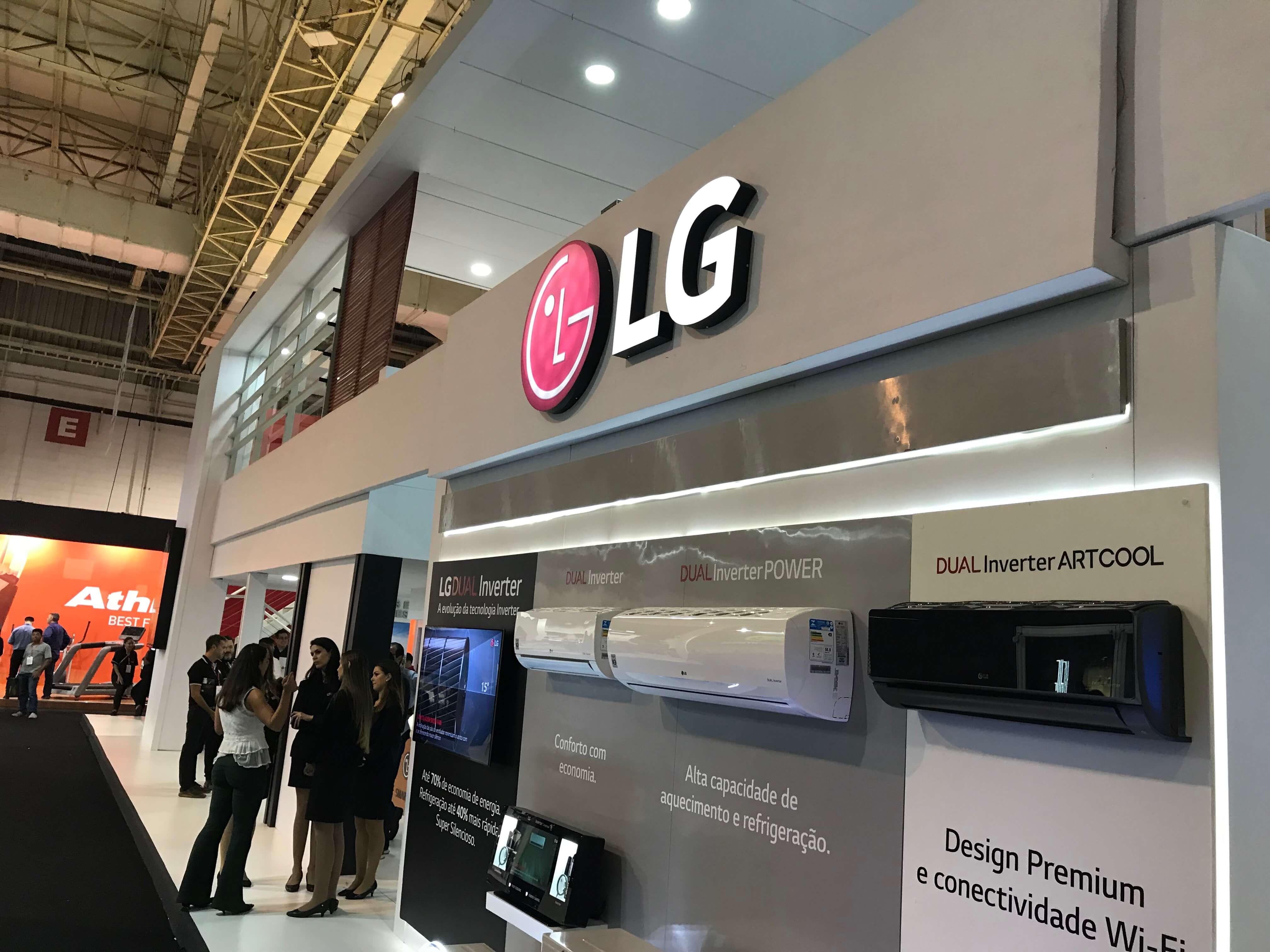 IMG 1373 - Eletrolar Show: LG amplia seu catálogo apresentando grandes novidades