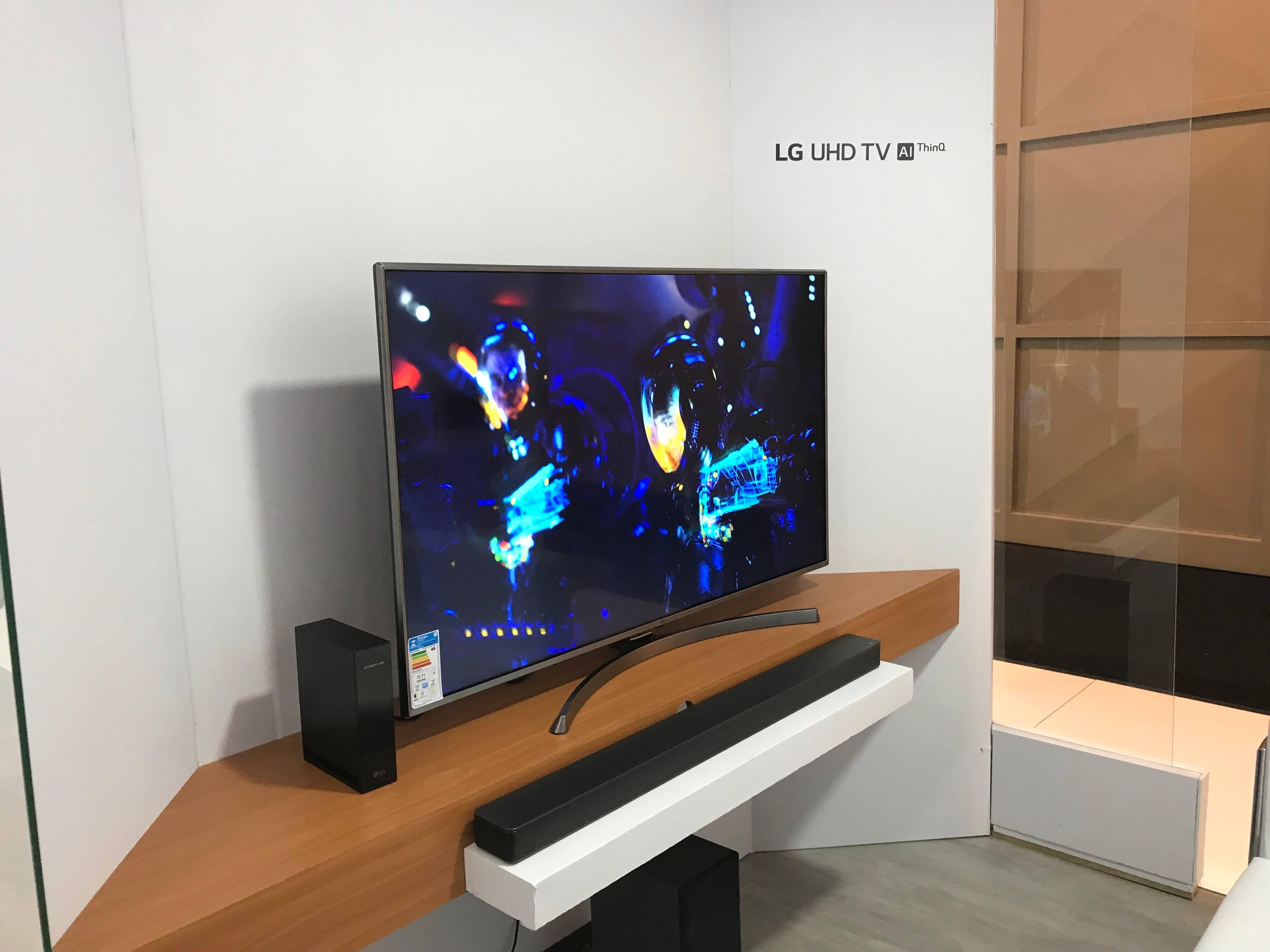Linha de TVs LG - Showmetech