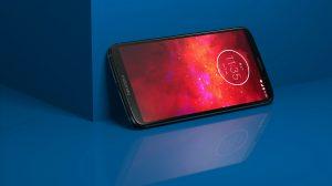 MotoZ3Play Deep indigo Display