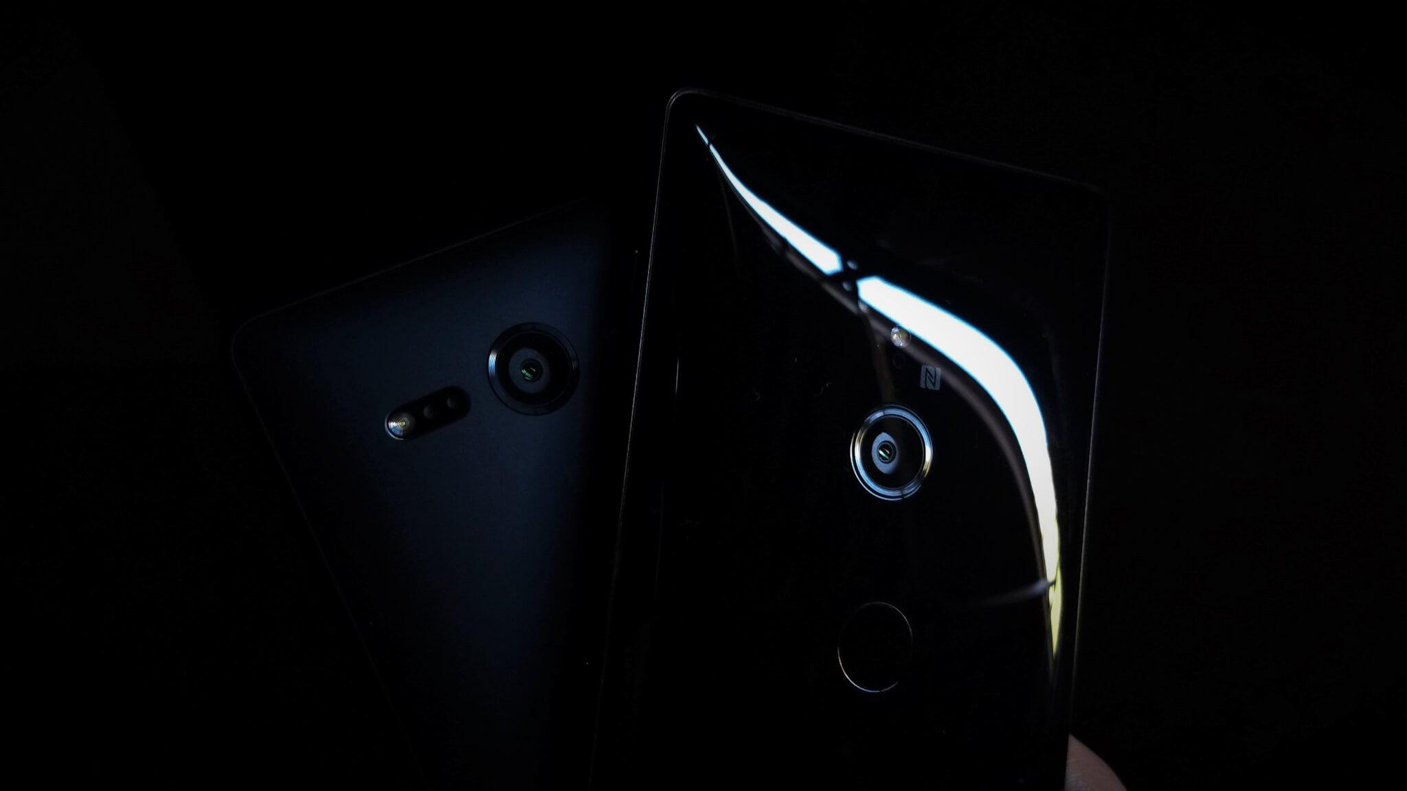 Sony xperia xz2 e xz2 compact - câmeras