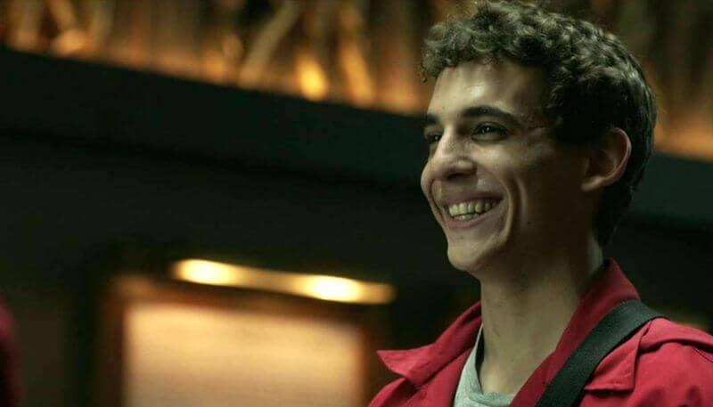 Rio de La Casa de Papel participará do elenco da nova série da Netflix, Elite