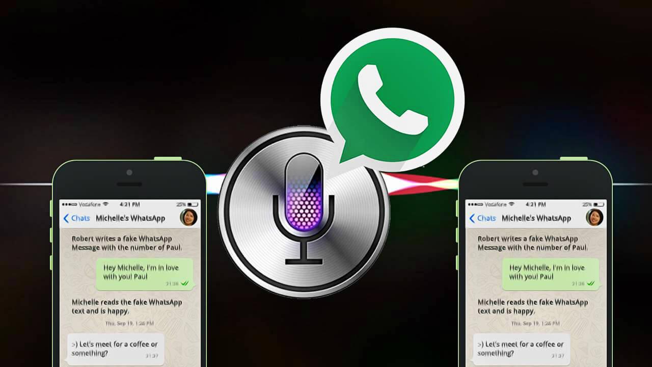A Siri agora manda mensagens para grupos de WhatsApp