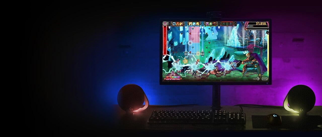 Logitech lança no Brasil speaker G560 com LEDs que se ajustam ao seu game