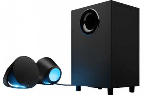 logitech02 470x313 - Logitech lança no Brasil speaker G560 com LEDs que se ajustam ao seu game