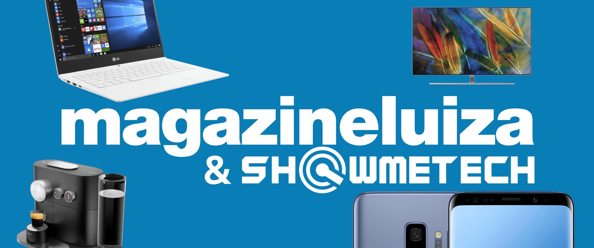 Magazine luiza showmetech loja logo