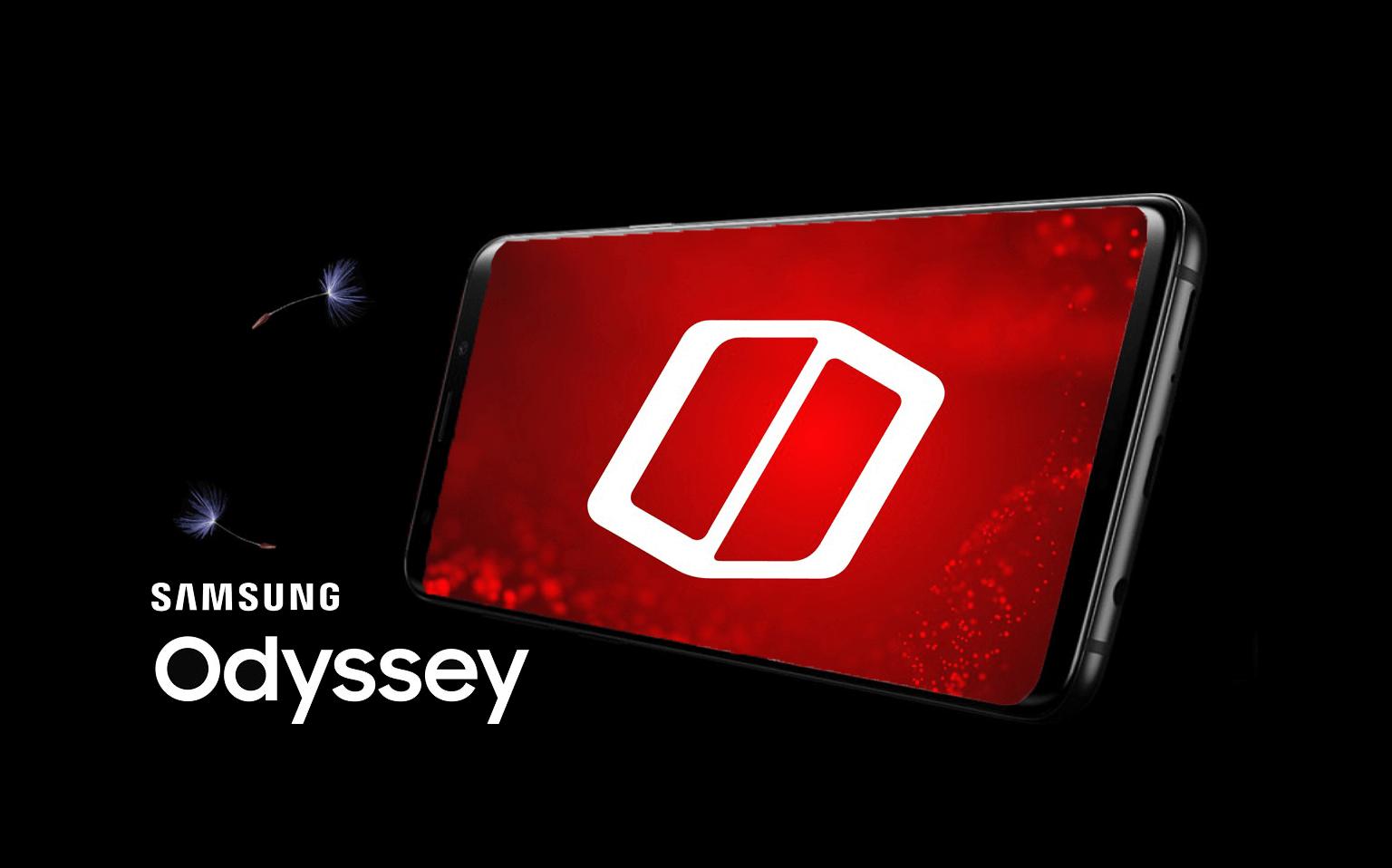 Samsung galaxy odyssey smartphone gamer
