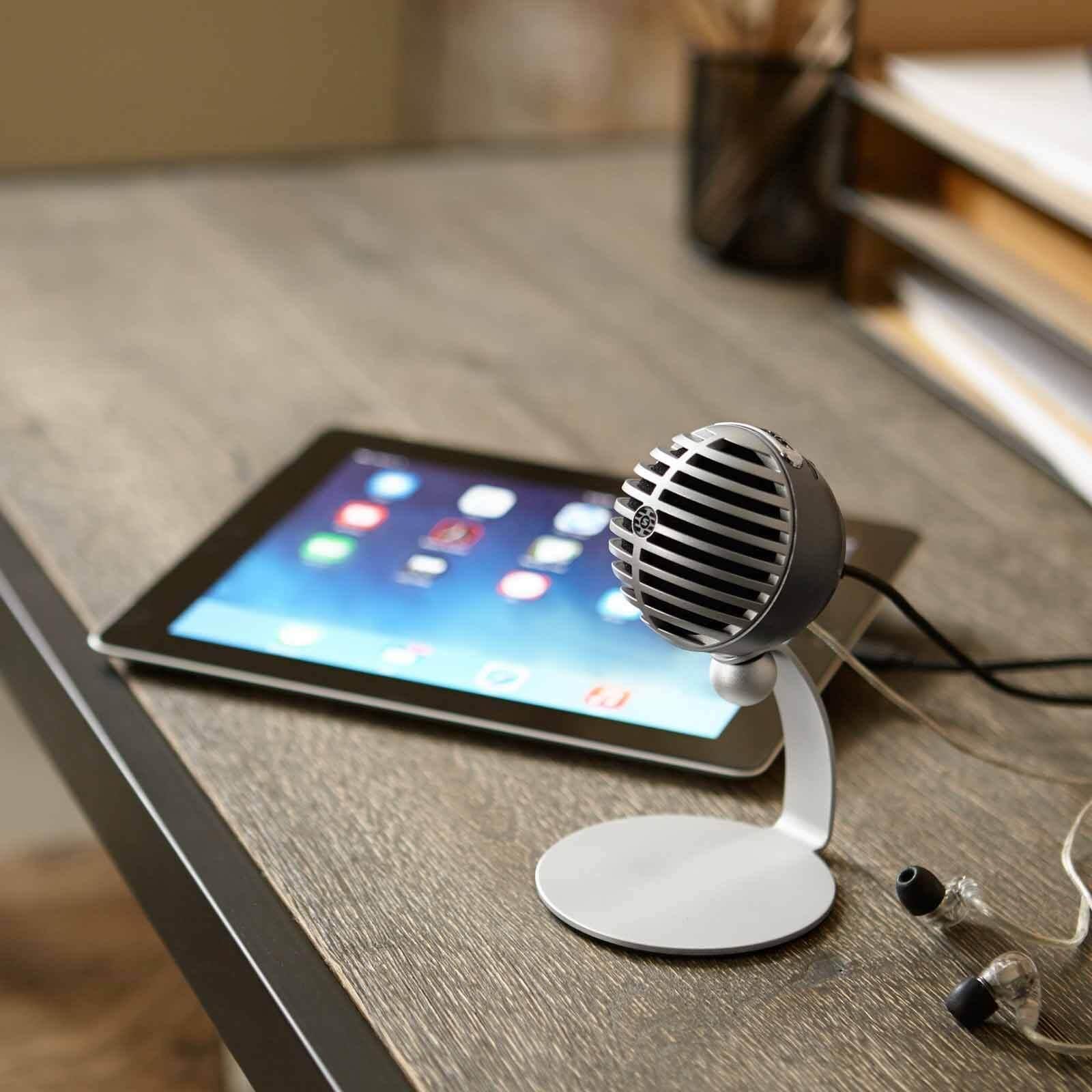 Review: shure mv5 é o microfone condensador digital amplamente versátil. Analisamos o shure mv5, um microfone que apresenta uma ótima relação custo-benefício para consumidores brasileiros.