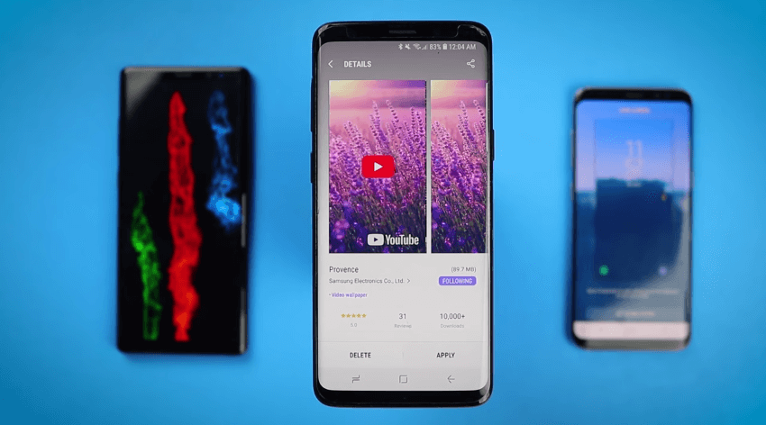 Tela de bloqueio em video: saiba como mudar seu Galaxy S8, Note 8 ou S9 6