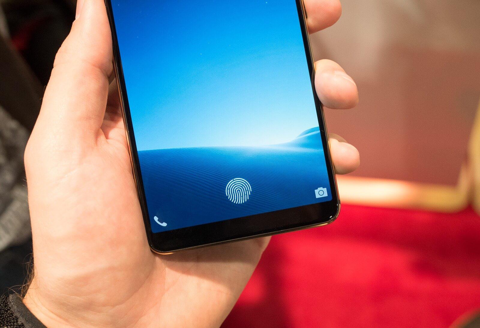 Vivo in display fingerprint sensor 2