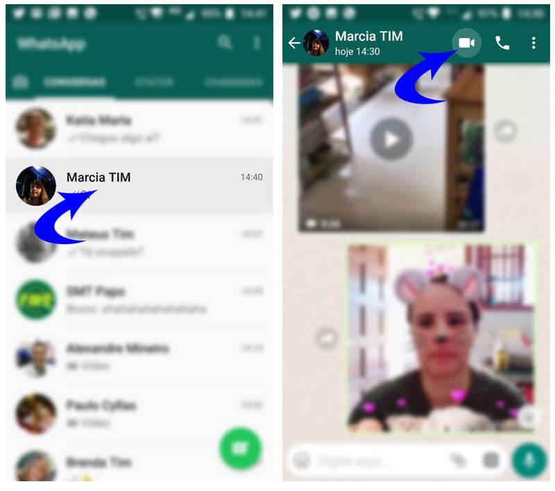 Tutorial: faça chamadas de vídeo e voz em grupo no whatsapp. Whatsapp liberou chamadas em grupo de vídeo e voz para todos os usuários que possuem a versão atualizada do aplicativo. Que tal dar uma olhada em como fazê-las?