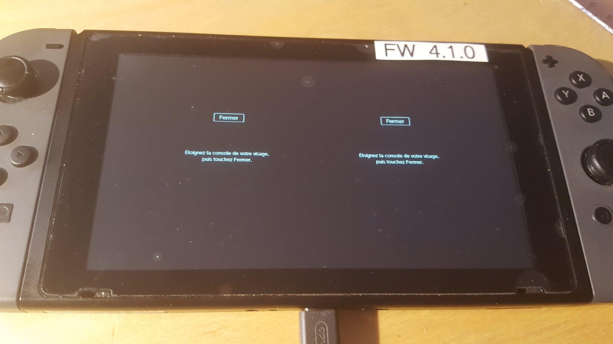 A tela verticalmente dividida pode indicar que o nintendo switch realmente possui opções para realidade virtual.