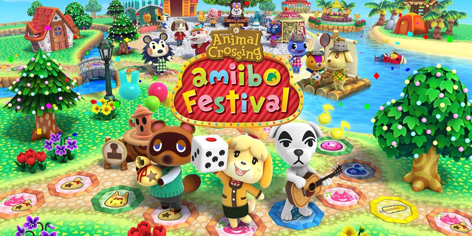 Isabelle, tom nook e toda a turma do animal crossing no nintendo switch? Seria inesquecível!