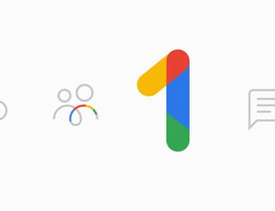 GOOGLEONE 550x422 - Google One já está disponível nos EUA, mas sem data para chegar ao Brasil