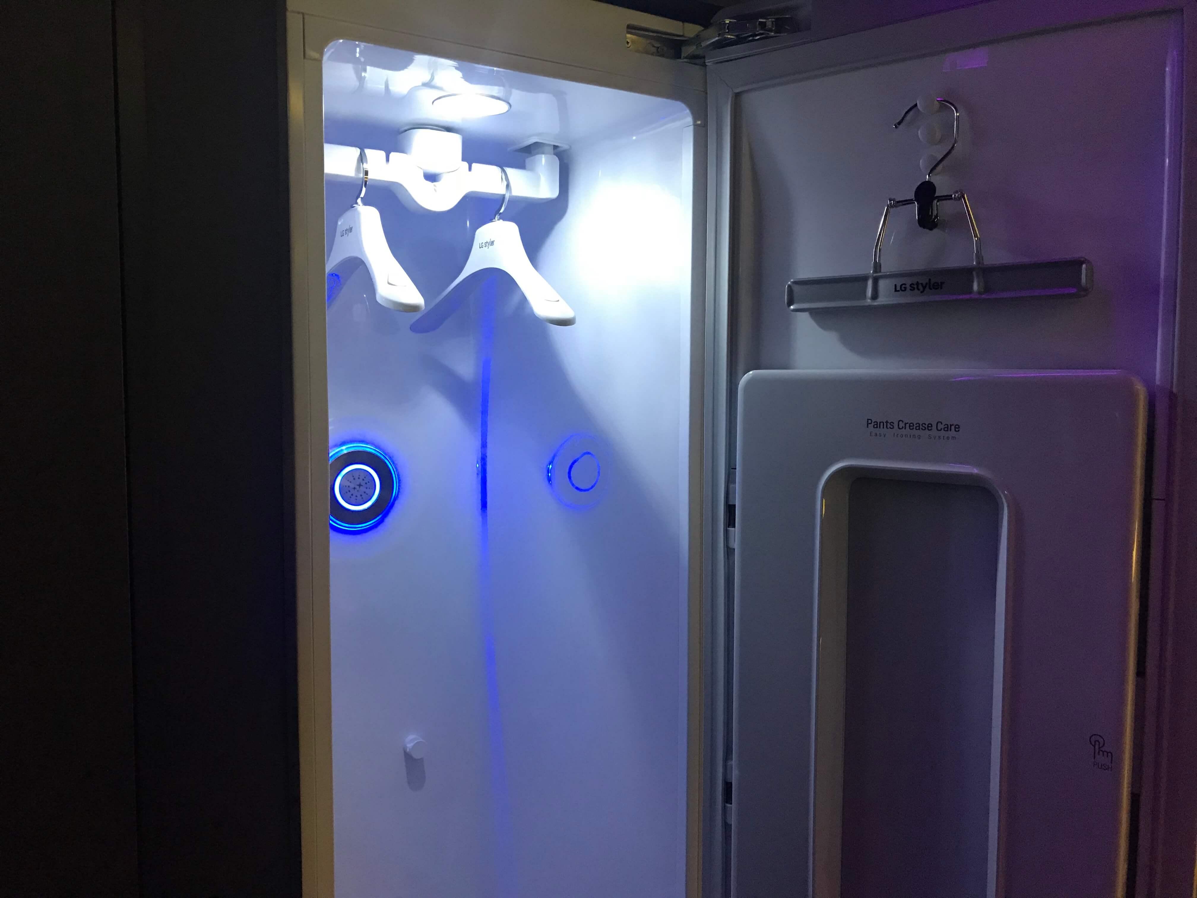 Armário inteligente do quarto do futuro - Showmetech