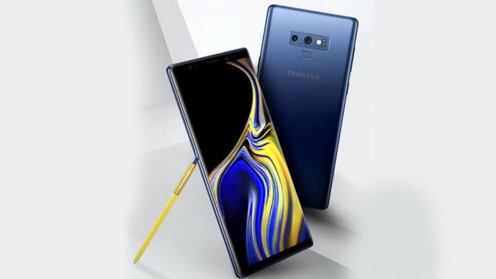 Samsung Galaxy Note 9 Blue Yellow Gold Evan Blass July 17 2018 1420x799 990x557 - Galaxy Note 9 chega ao Brasil