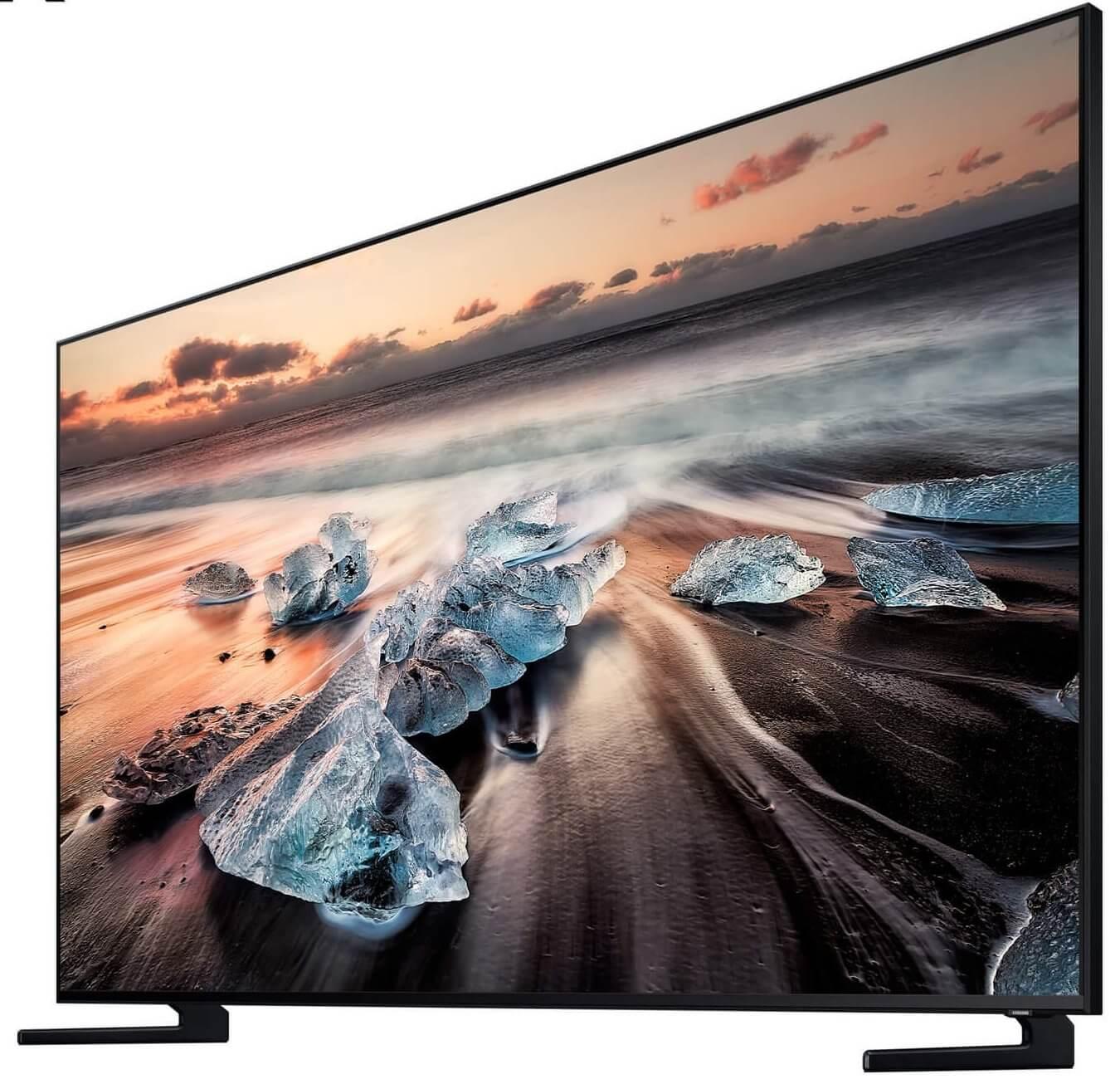 Imagem de divulgação da Q900N, nova televisão da Samsung lançado durante a IFA 2018