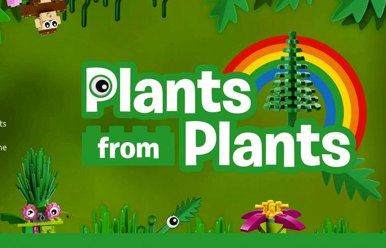 """Lego """"verde"""" é feito de cana de açúcar"""