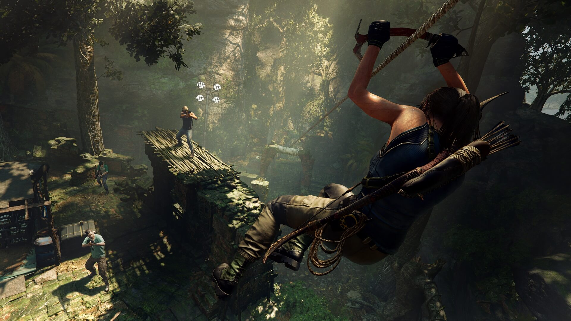 Shadow of the tomb raider rope slide