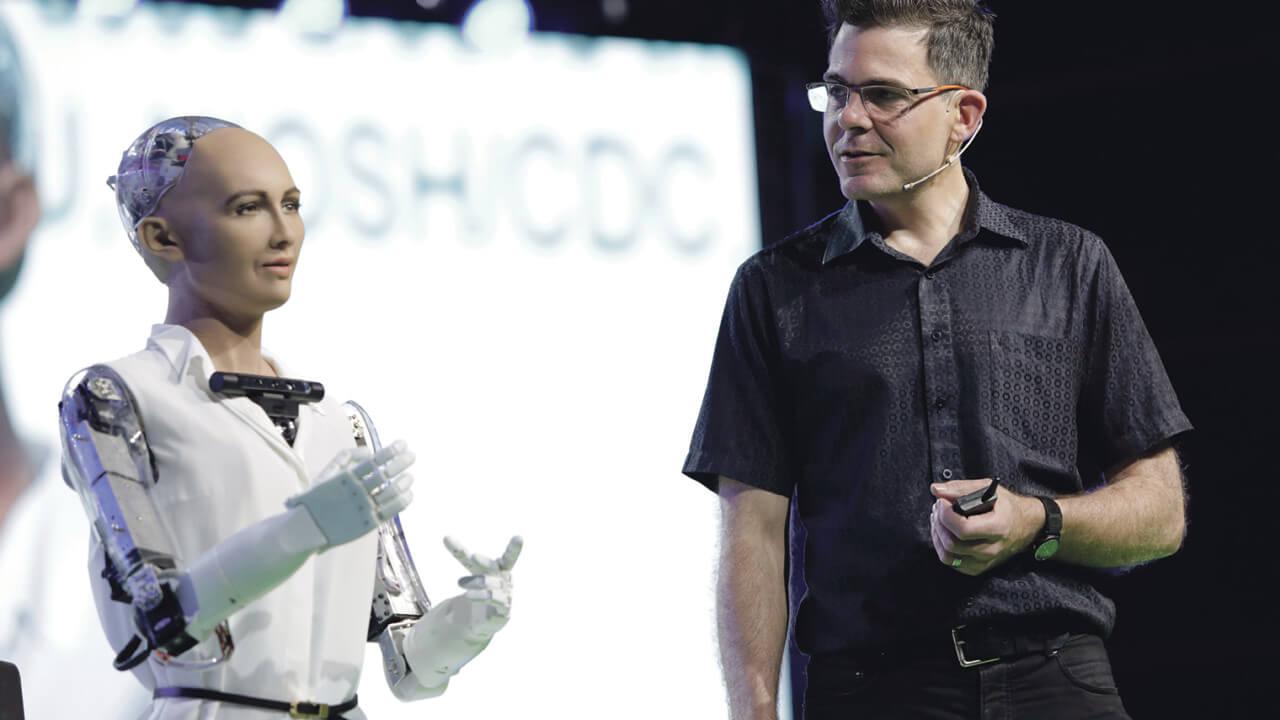 Sophia robot 1280x720 - Robô Sophia é uma das palestrantes no LATAM Retail Show