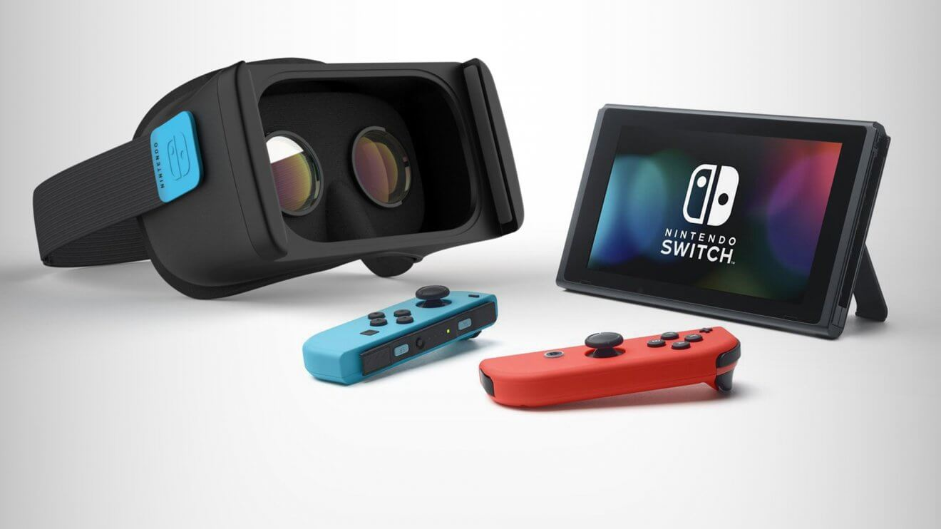 a mock up of how a switch vr headset might look.original