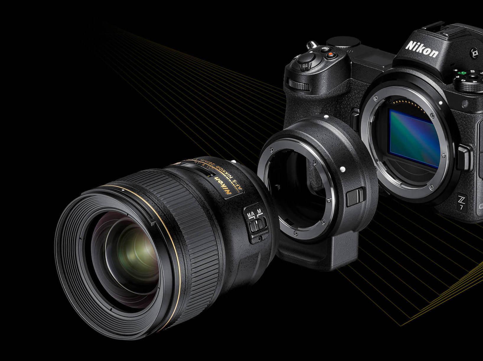 adaptor row xl1 - Nikon anuncia câmeras mirrorless full-frame com novo sistema Z-mount