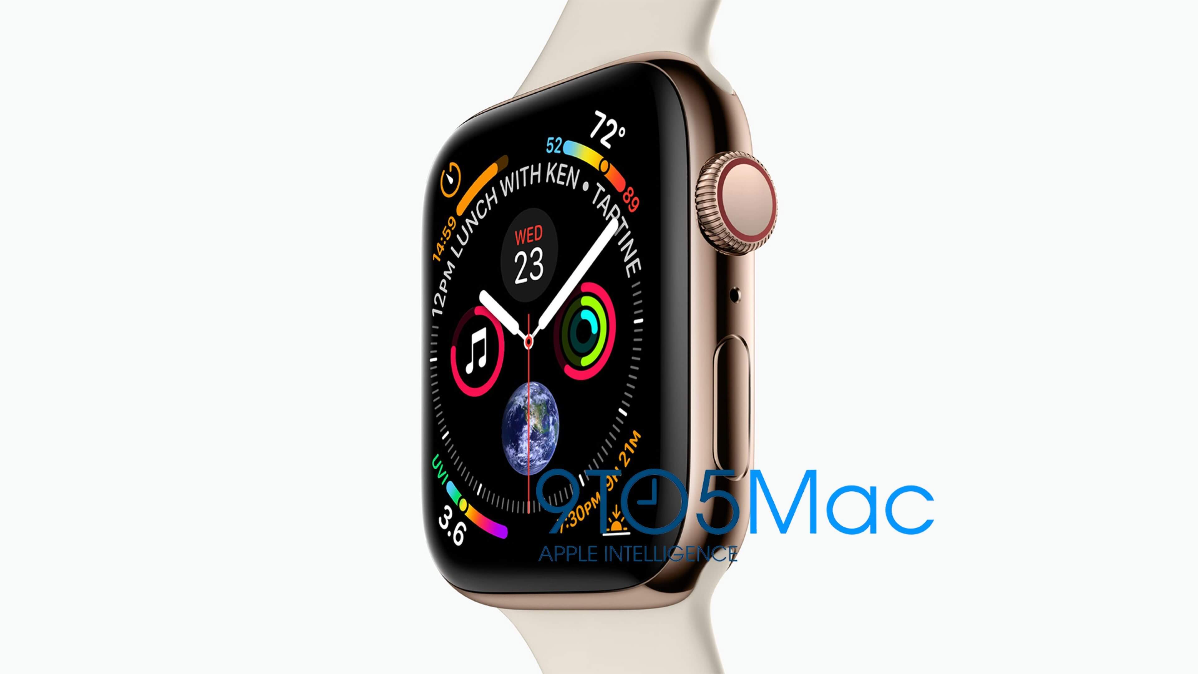 apple watch series 4 9to5mac - Apple Watch Series 4 ganha sua primeira foto oficial; confira