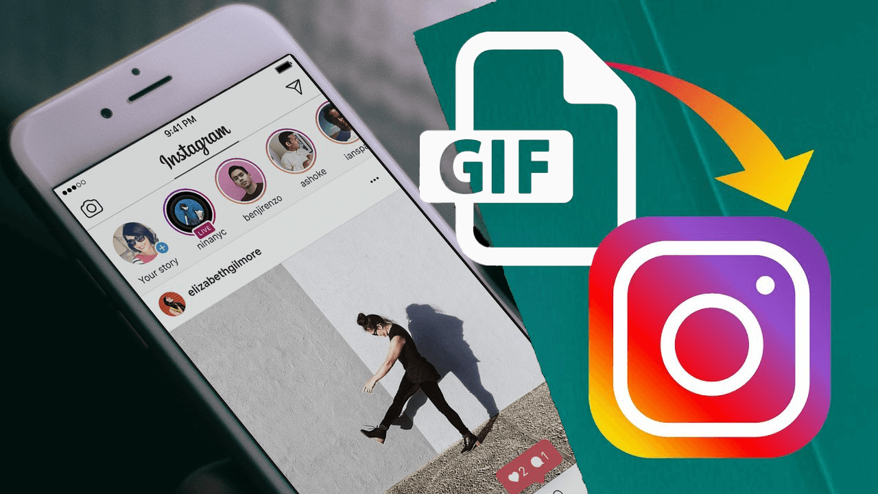 Gif to video gif para video instagram
