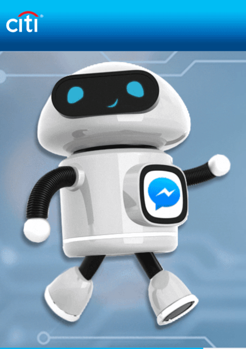 Citi já usa o Facebook Messenger