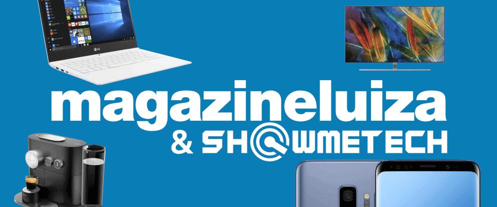 Magazine luiza showmetech loja logo 1