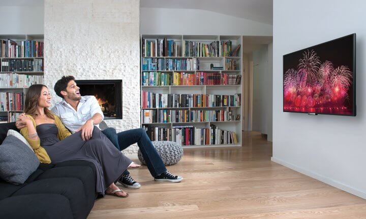 Tamanho da tela da tv 4k x espaço