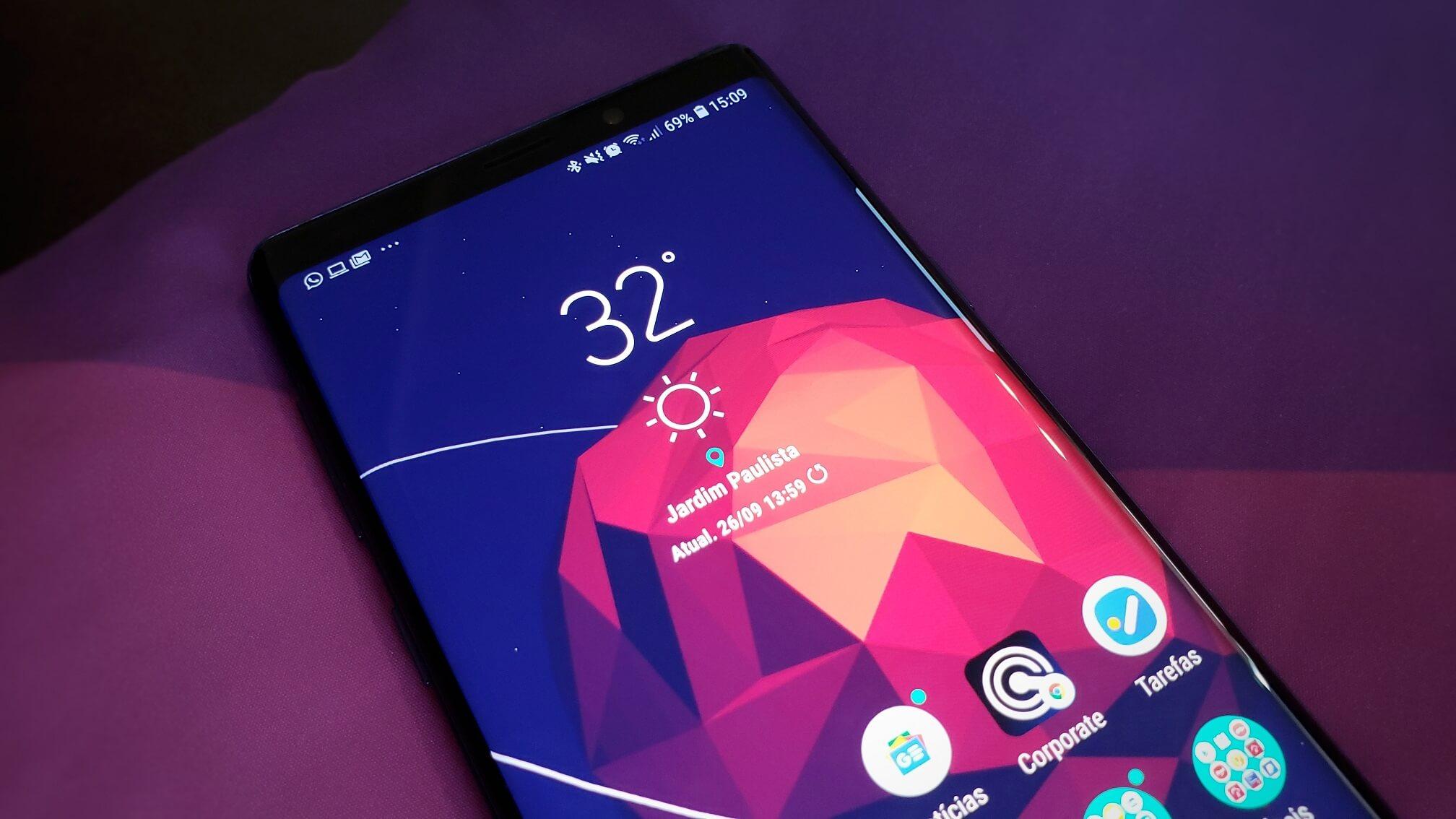REVIEW: Galaxy Note 9 é o melhor smartphone com Android do Brasil 9