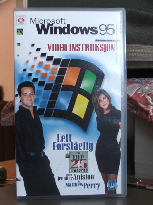 DVD de instalação do Windows 95