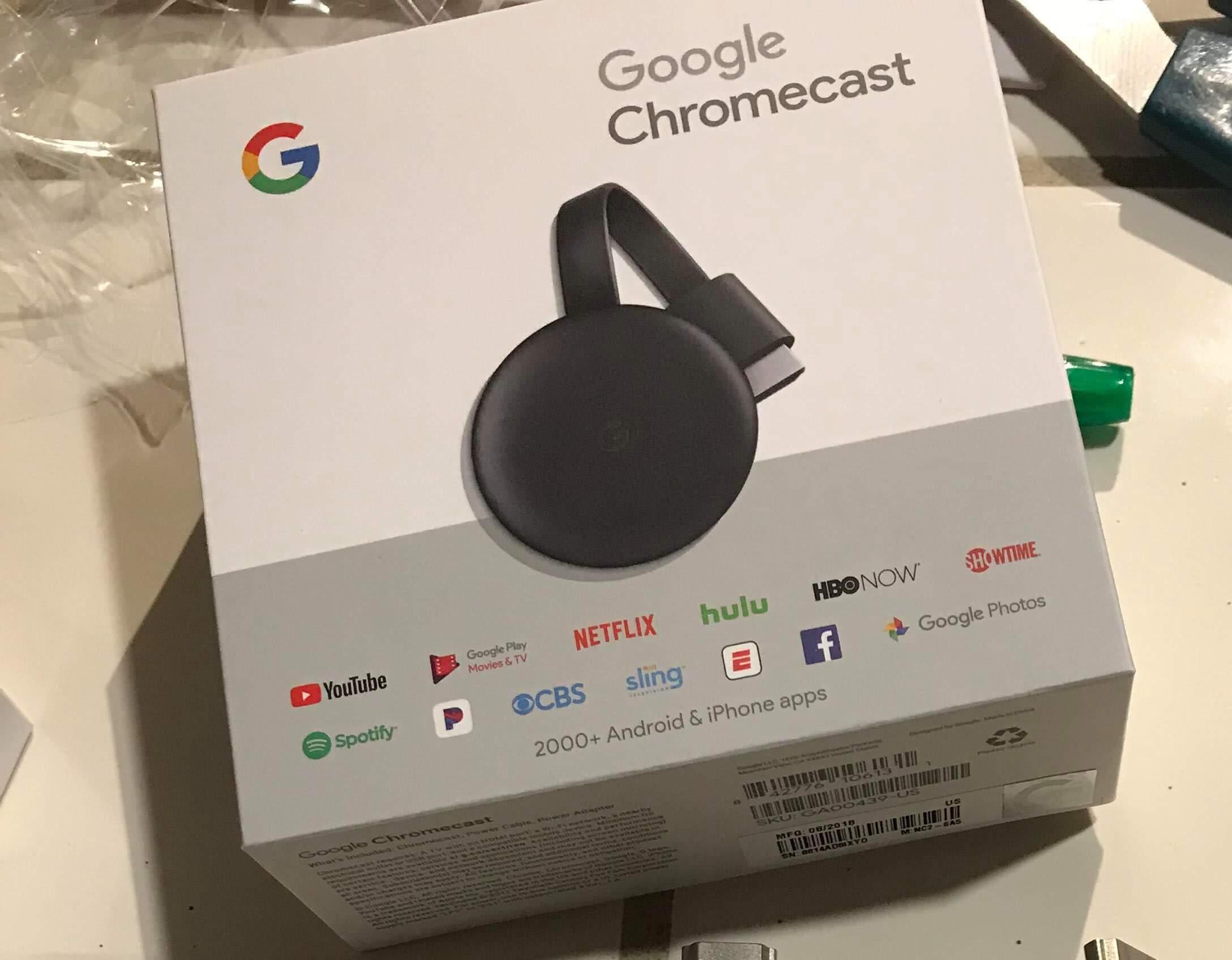 Um novo Chromecast(terceira geração) vaza na internet