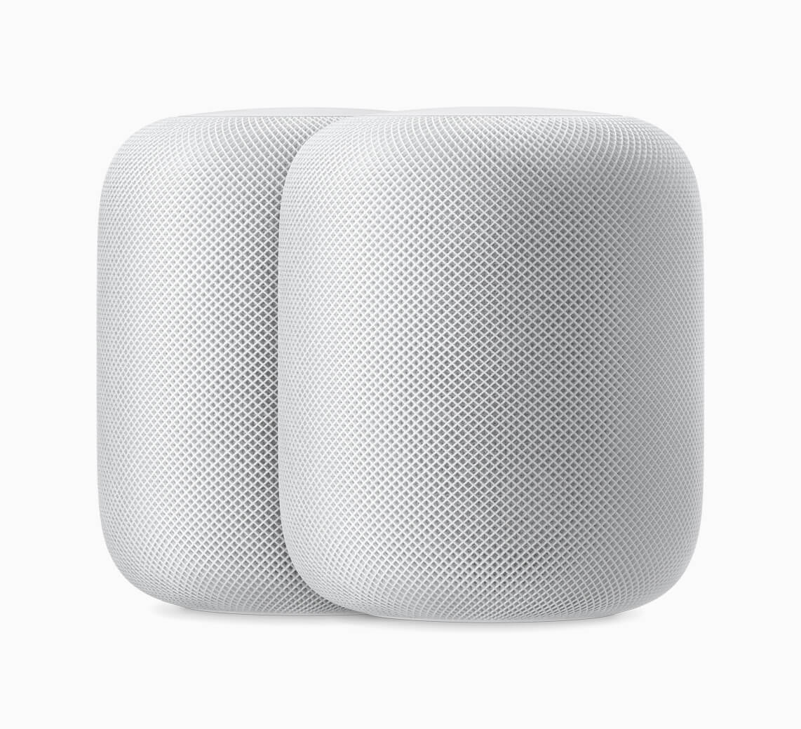 Apple homepod 2up white 09122018