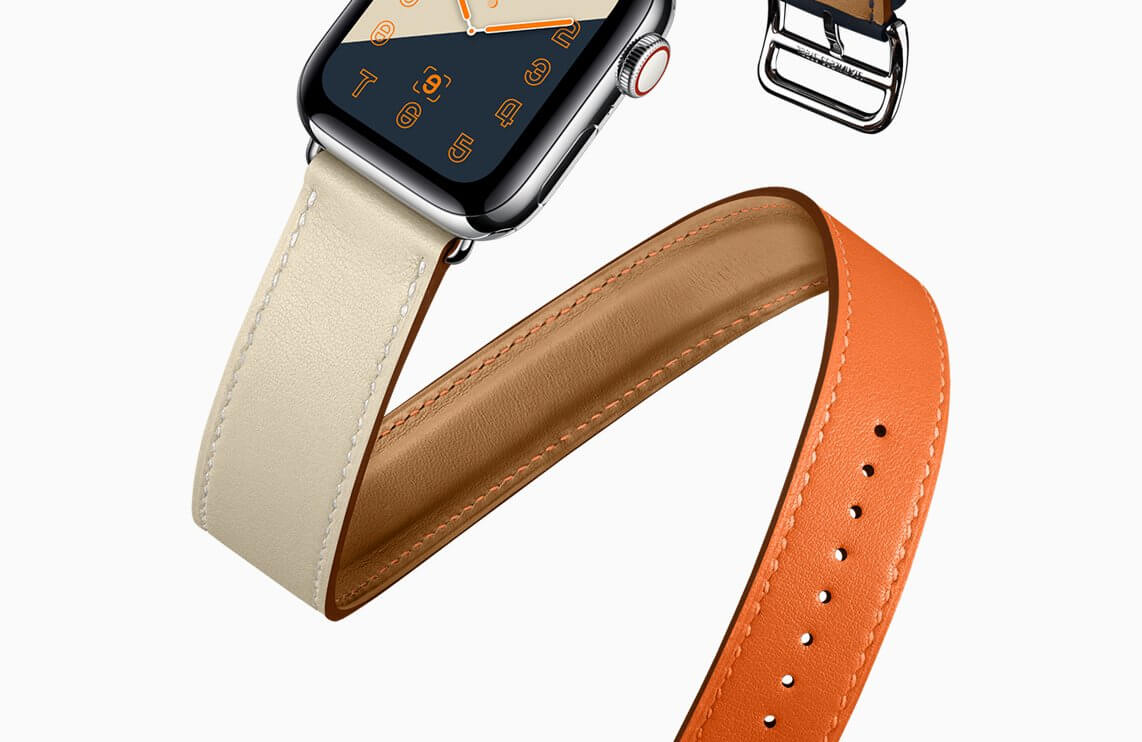 Apple Watch Series4 Hermes double tour 09122018