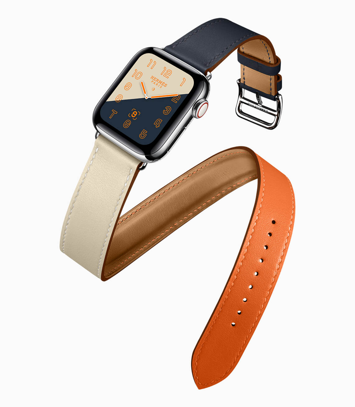 Apple Watch Series4 Hermes double tour 09122018 - Apple Watch Series 4 é lançado com eletrocardiograma