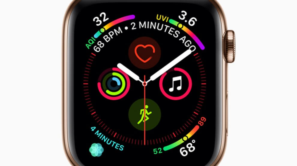 Apple watch series4 liquidmetal face 09122018