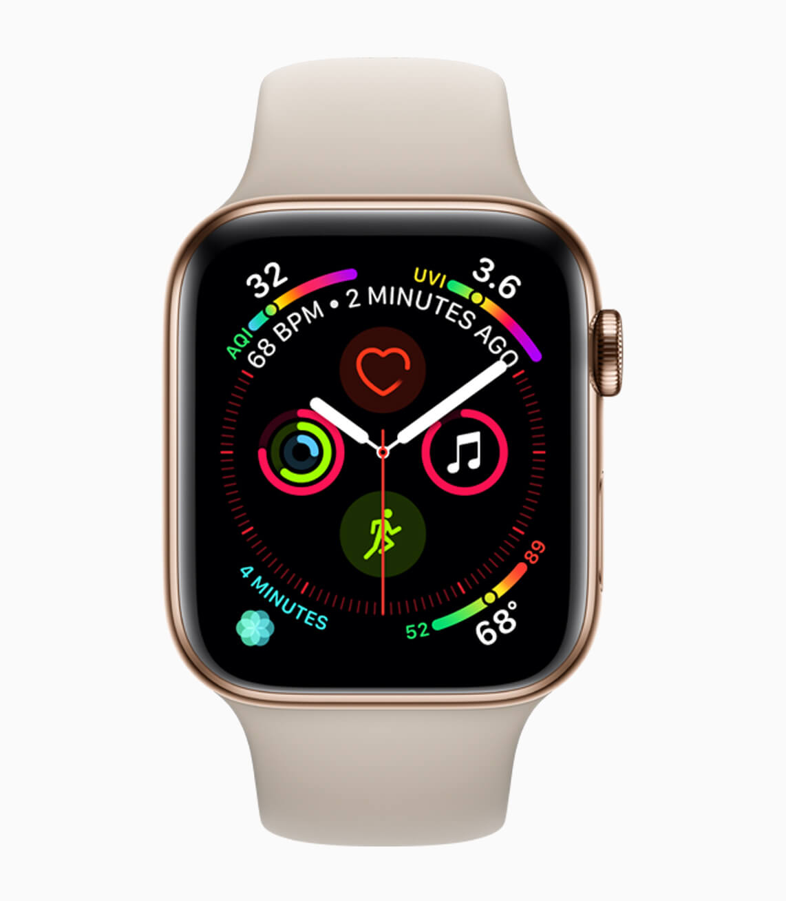 Apple Watch Series4 LiquidMetal face 09122018 - Apple Watch Series 4; o pequeno notável (review)