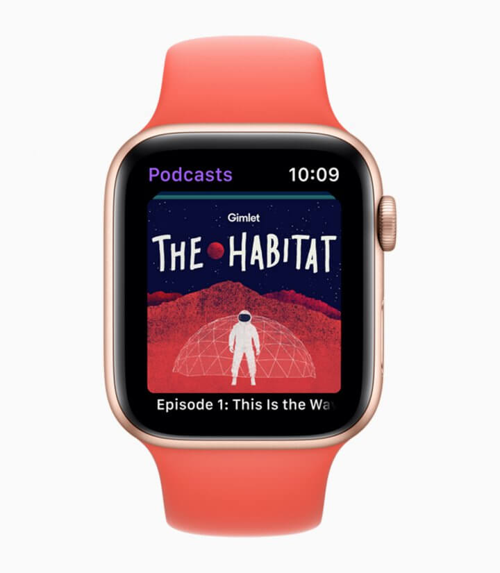 Apple Podcasts finalmente no Apple Watch