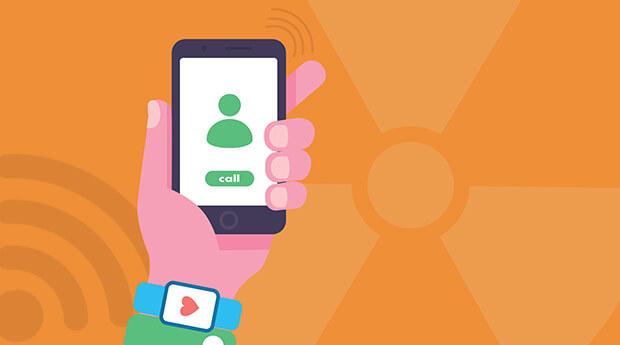 Smartphones emitem uma forma de radiação não-ionizante