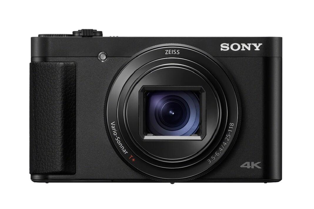 A câmera HX95 tem lente de zoom ZEISS®1 24-720 mm e gravação de vídeo 4K2 3,