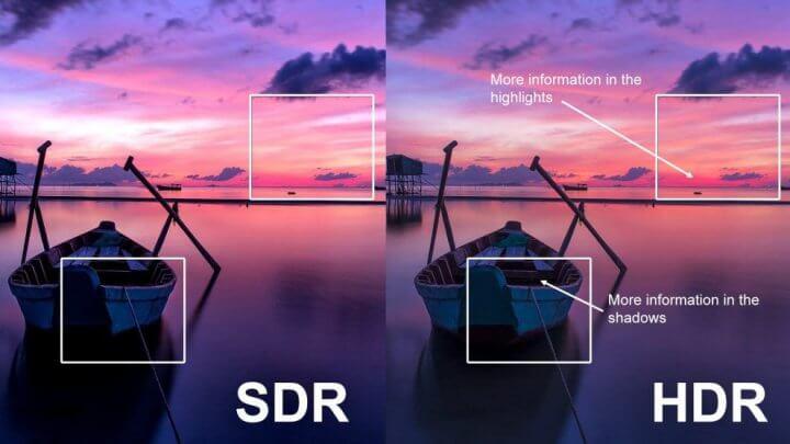 HDRvsSDR 720x405 - Sony explica porquê o HDR importa em Smart TVs