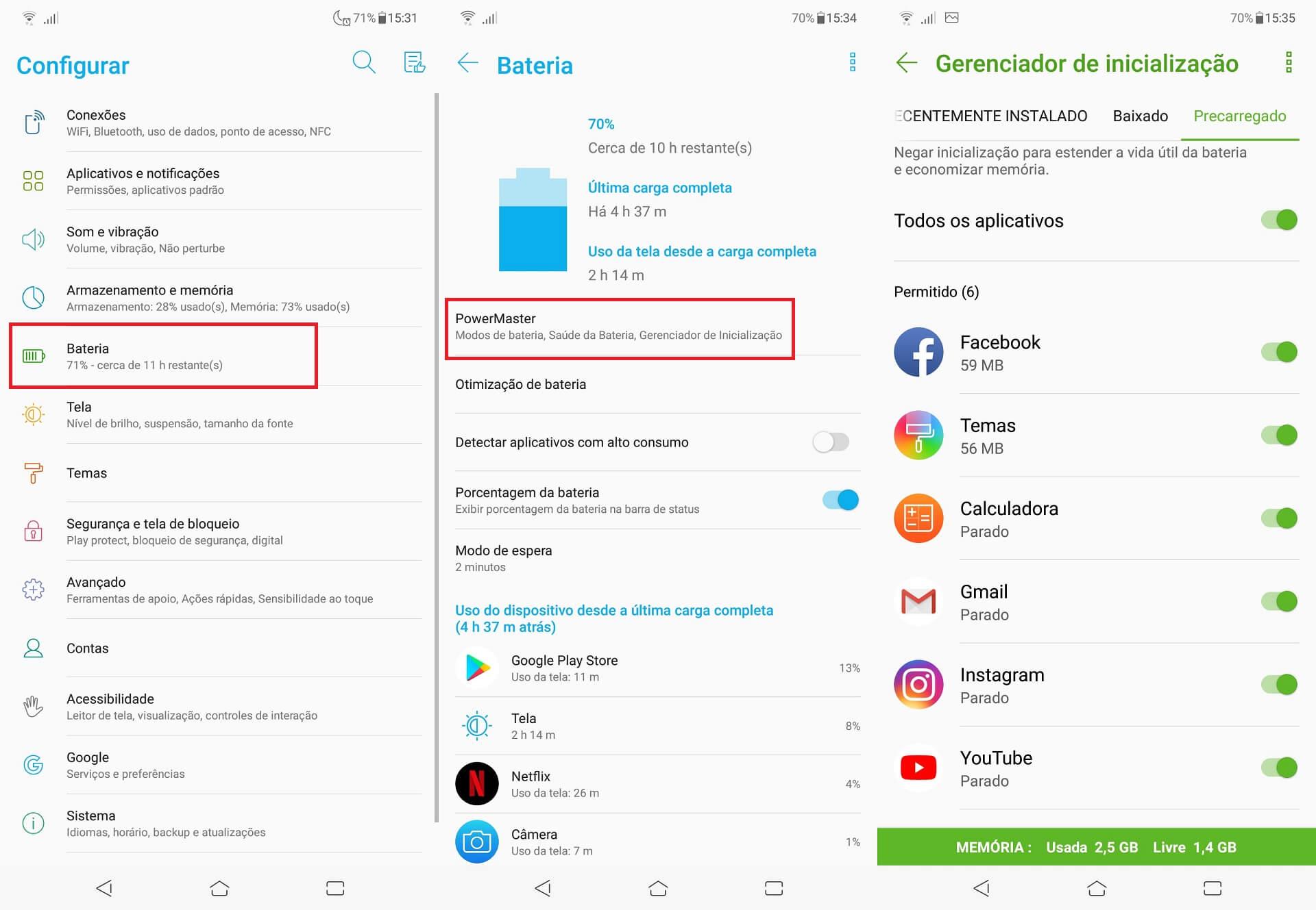 IMG 7 - Descubra 23 dicas e truques para os Asus Zenfone 5 e Zenfone 5Z