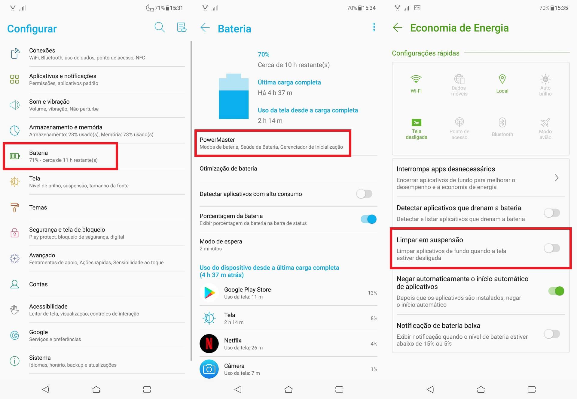 IMG 9 - Descubra 23 dicas e truques para os Asus Zenfone 5 e Zenfone 5Z