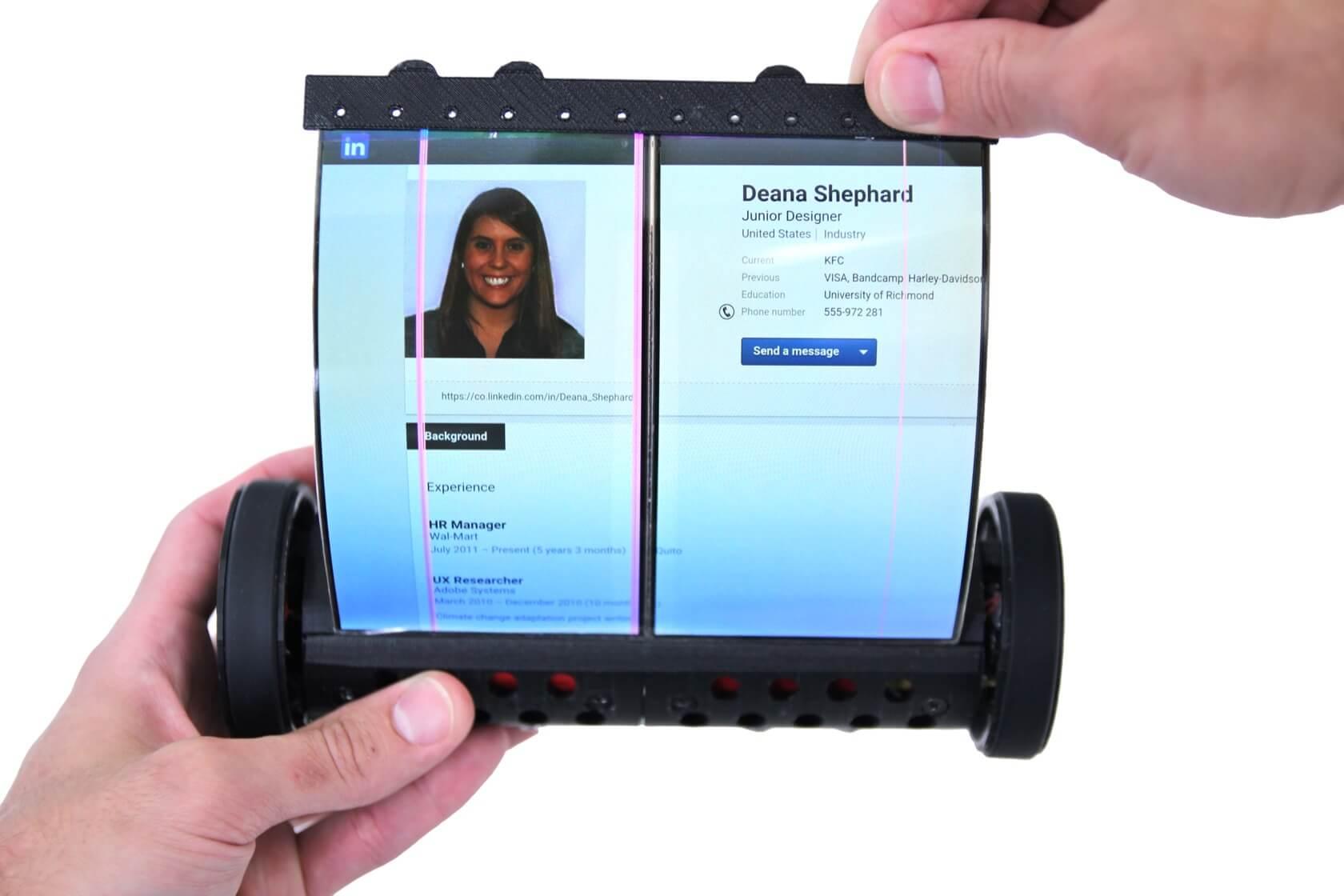 Conheça magicscroll, o tablet de tela rolável inspirado em pergaminhos