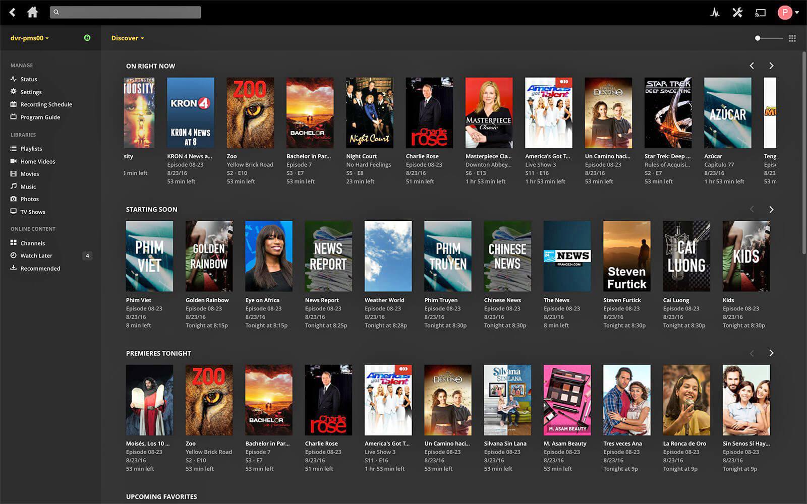 PlexDVRdiscover ed - Player de Vídeo: os 10 melhores programas ver vídeos no Windows