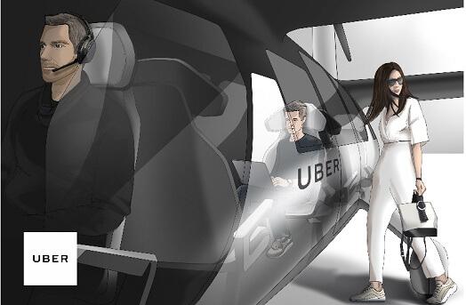Uber Air - Brasil está entre os finalistas para receber o Uber Air