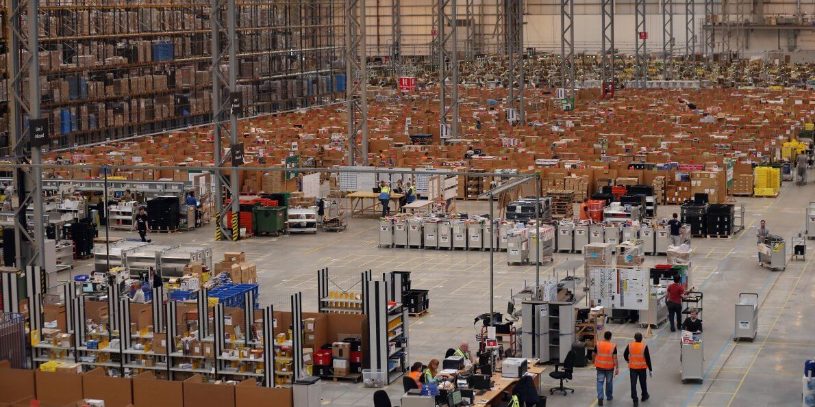 amazon - Amazon atinge US$ 1 trilhão em valor de mercado