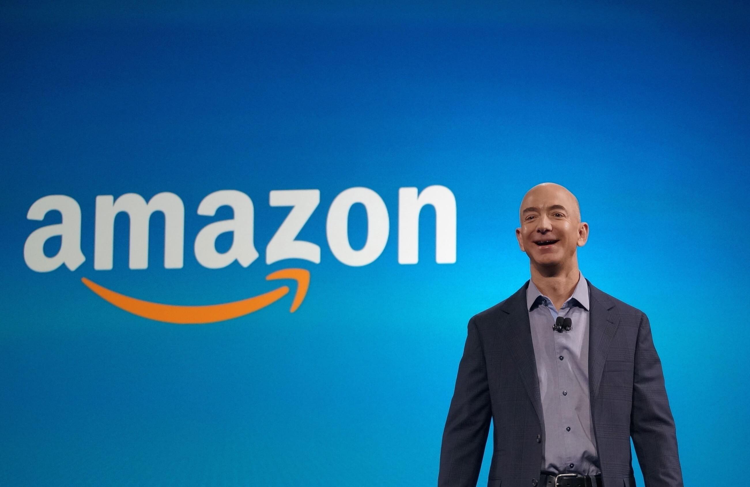 Amazon acalçou U$: 1 trilhão de dólares